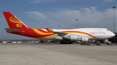 TC-ACG - Boeing 747-481(BDSF) - MyCargo