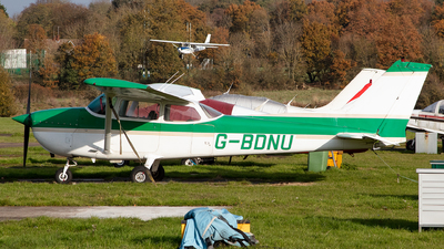 G-BDNU - Reims-Cessna F172M Skyhawk - Private