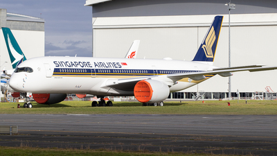 F-WZGC - Airbus A350-941 - Singapore Airlines