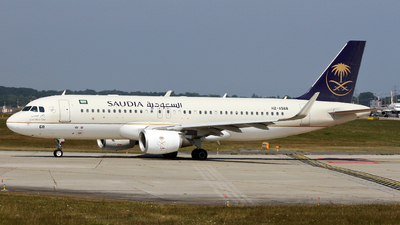 A picture of HZAS68 - Airbus A320214 - Saudia - © Claude Davet
