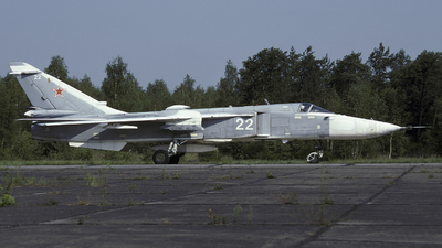 22 - Sukhoi Su-24MR Fencer - Russia - Air Force
