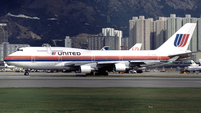 N175UA - Boeing 747-422 - United Airlines
