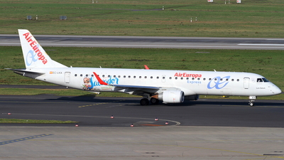 A picture of ECLKX - Embraer E195LR - Air Europa - © Robin Frosch