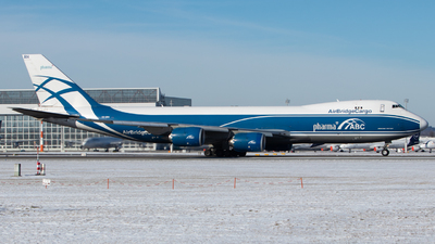 VQ-BRH - Boeing 747-8HVF - Air Bridge Cargo