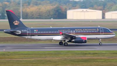JY-AYQ - Airbus A320-232 - Royal Jordanian