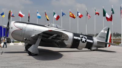 433721 - Republic P-47D Thunderbolt - Mexico - Air Force