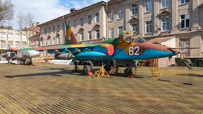 82 - Sukhoi Su-25 Frogfoot - Belarus - Air Force