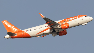 A picture of HBJXF - Airbus A320214 - easyJet - © Rui Sequeira