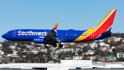 N8584Z - Boeing 737-8H4 - Southwest Airlines