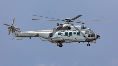 623 - Airbus Helicopters H225M - Kuwait - Naval Force