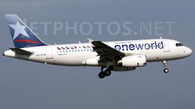 CC-CYE - Airbus A319-132 - LAN Airlines