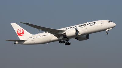 JA825J - Boeing 787-8 Dreamliner - Japan Airlines (JAL)