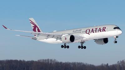 A picture of A7ALT - Airbus A350941 - Qatar Airways - © Moritz Babl