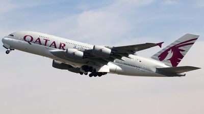A7-API - Airbus A380-861 - Qatar Airways