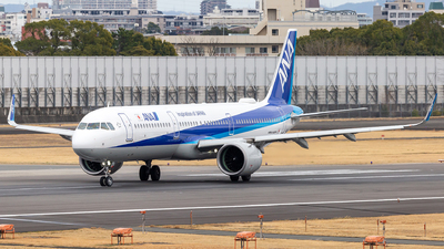 A picture of JA131A - Airbus A321272N - All Nippon Airways - © LUSU
