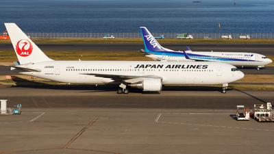 JA8988 - Boeing 767-346 - Japan Airlines (JAL)
