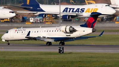 N317CA - Bombardier CRJ-701ER - Delta Connection (GoJet Airlines)