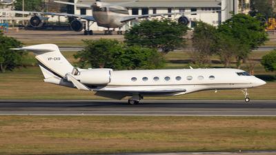 VP-CKB - Gulfstream G650 - Private
