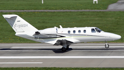 F-HAGH - Cessna 525 CitationJet 1 - Private