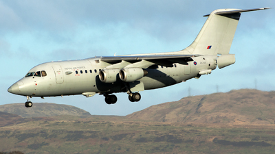 ZE708 - British Aerospace BAe 146 C.3 - United Kingdom - Royal Air Force (RAF)