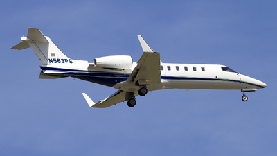 N583PS - Bombardier Learjet 45 - Private
