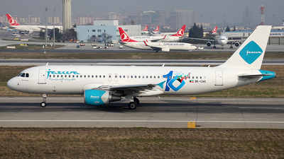 9K-CAO - Airbus A320-214 - Jazeera Airways