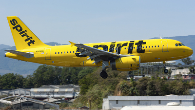 N506NK - Airbus A319-132 - Spirit Airlines