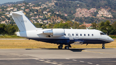 N2FD - Bombardier CL-600-2B16 Challenger 604 - Private