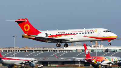 A picture of B604A - Comac ARJ21700 - Chengdu Airlines - © Marcus Yu