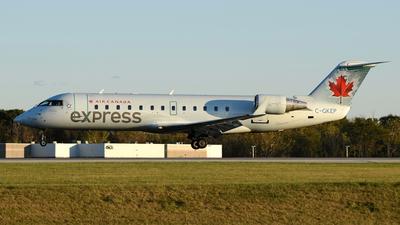 C-GKEP - Bombardier CRJ-200LR - Air Canada Express (Air Georgian)