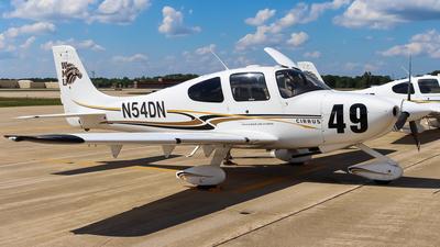 N54DN - Cirrus SR20 - Private