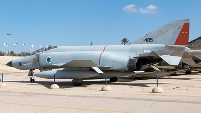 485 - McDonnell Douglas RF-4E Phantom II - Israel - Air Force