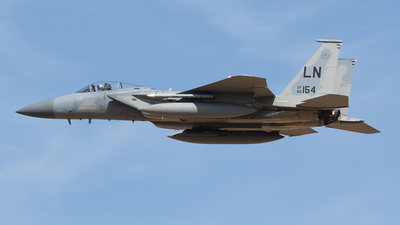 86-0154 - McDonnell Douglas F-15C Eagle - United States - US Air Force (USAF)