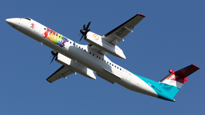 LX-LQC - Bombardier Dash 8-Q402 - Luxair - Luxembourg Airlines