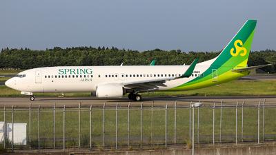 JA06GR - Boeing 737-8AL - Spring Airlines Japan