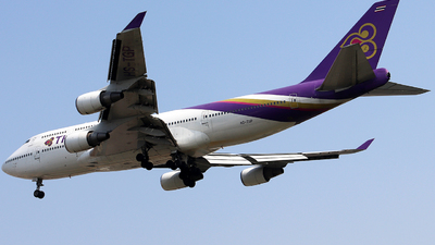 HS-TGP - Boeing 747-4D7 - Thai Airways International