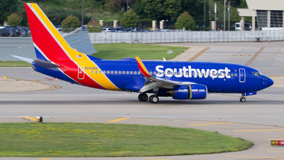A picture of N205WN - Boeing 7377H4 - Southwest Airlines - © Jeremy D. Dando