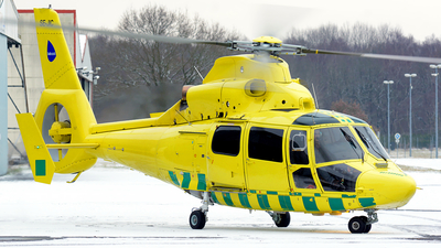 A picture of SEJIC - Airbus Helicopters AS365 Dauphin - Babcock Scandinavian AirAmbulance - © Nils Berwing