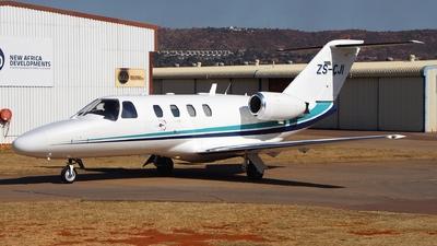 ZS-CJI - Cessna 525 Citationjet CJ1 - Private