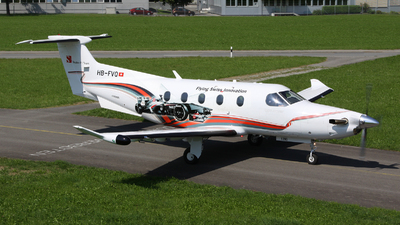 HB-FVQ - Pilatus PC-12/47E - Pilatus Aircraft