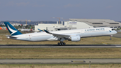 F-WZNI - Airbus A350-1041 - Cathay Pacific Airways