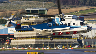 A picture of GCKXL - Sikorsky S92A Helibus - Bristow Helicopters - © Danny Nixon