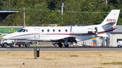 N26XL - Cessna 560XL Citation XLS Plus - Private
