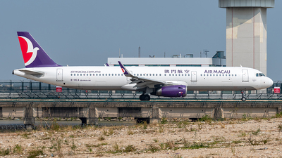 B-MCA - Airbus A321-231 - Air Macau