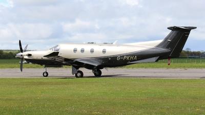 G-PKHA - Pilatus PC-12/47E - Private