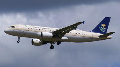 HZ-ASG - Airbus A320-214 - Saudi Arabian Airlines