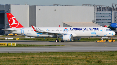 D-AYAU - Airbus A321-271NX - Turkish Airlines