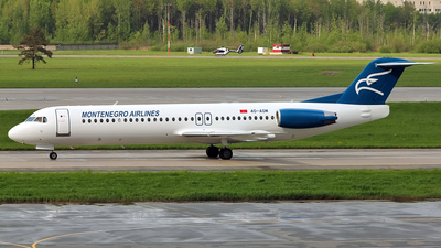 4O-AOM - Fokker 100 - Montenegro Airlines