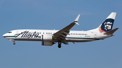 A picture of N538AS - Boeing 737890 - Alaska Airlines - © Chris Pitchacaren