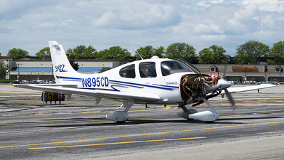 N895CD - Cirrus SR22 - Private